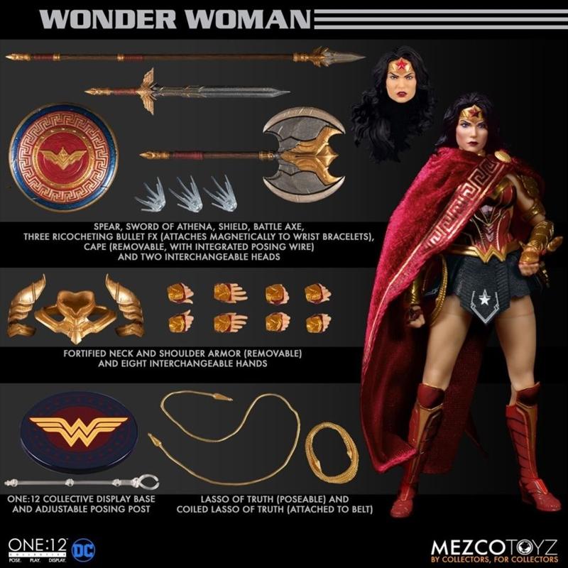 Wonder Woman - Wonder Woman One:12 Collective Action Figure | Merchandise