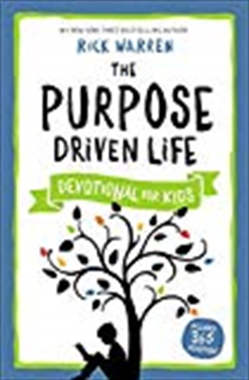 The Purpose Driven Life Devotional For Kids | Paperback Book