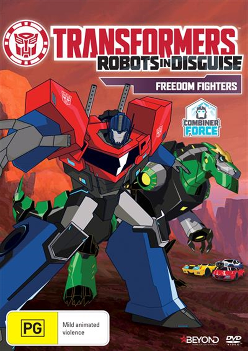 Transformers - Robots In Disguise - Freedom Fighters | DVD