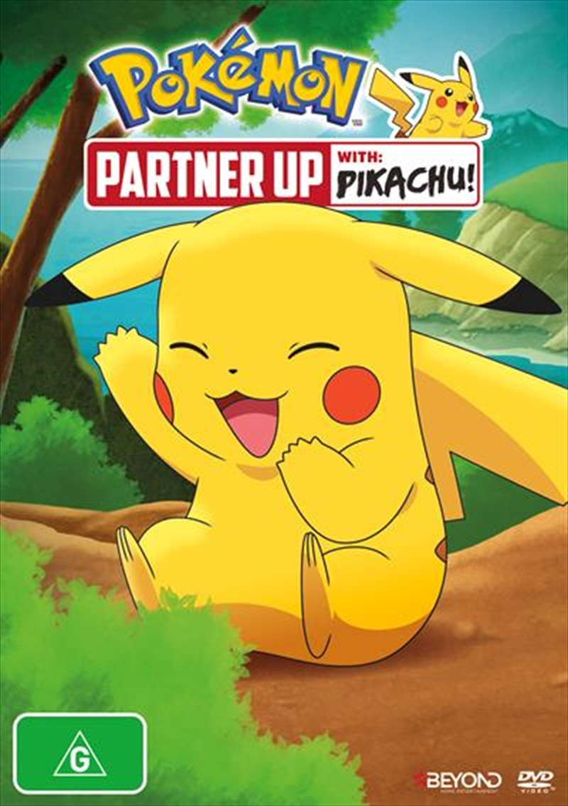 Pokemon - Partner Up With Pikachu! | DVD