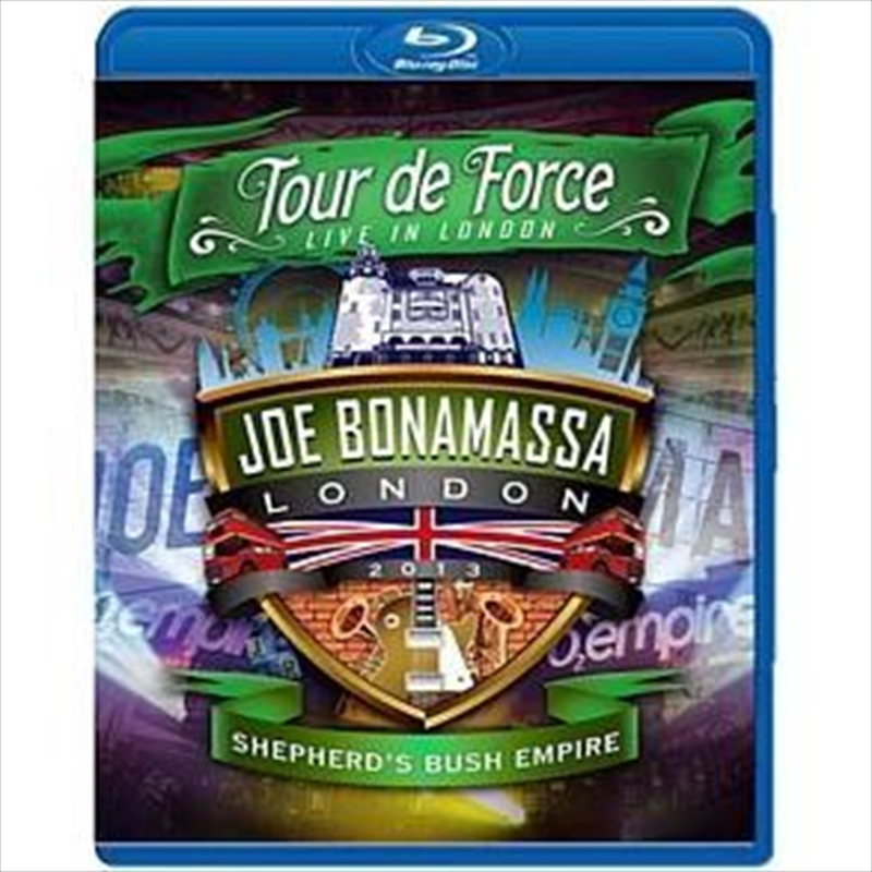 Tour De Force: Live In London - Shepherds Bush Empire | Blu-ray