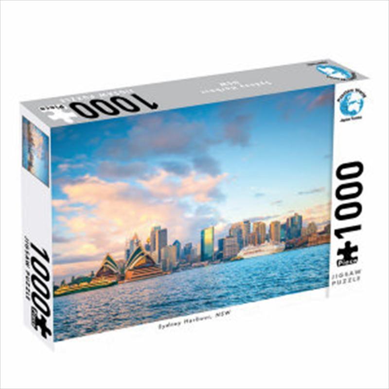 Puzzlers World - Sydney Harbour 1000 Piece Jigsaw Puzzle | Merchandise