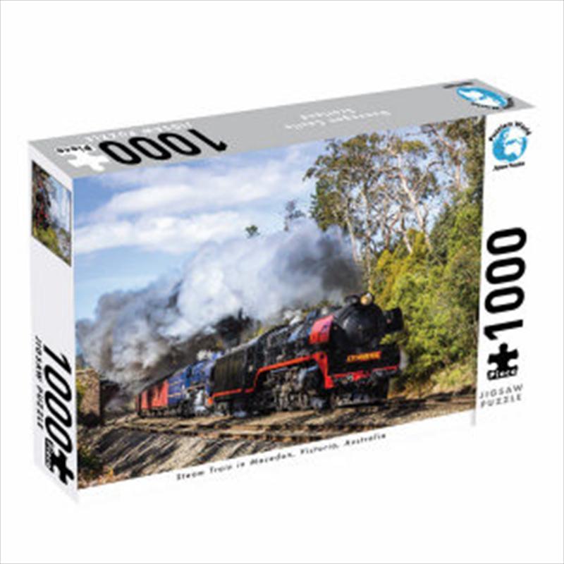 Steam Train Victoria 1000 Piece Jigsaw Puzzle | Merchandise
