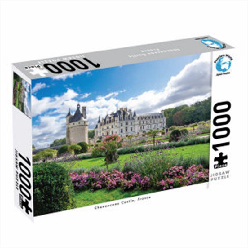 Chenonceau Castle France 1000 Piece Jigsaw Puzzle | Merchandise