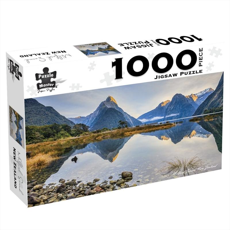 Milford Sound New Zealand 1000 Piece Jigsaw Puzzle   Merchandise