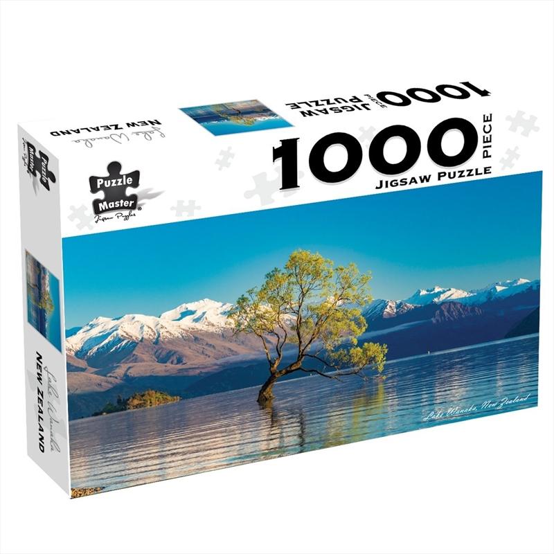Lake Wanaka New Zealand 1000 Piece Jigsaw Puzzle   Merchandise