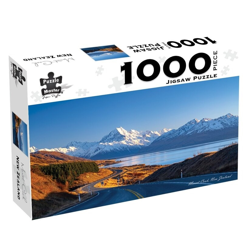 Mount Cook New Zealand 1000 Piece Jigsaw Puzzle | Merchandise