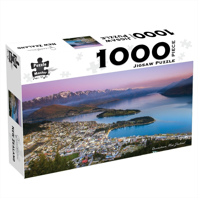 Queenstown New Zealand 1000 Piece Jigsaw Puzzle | Merchandise