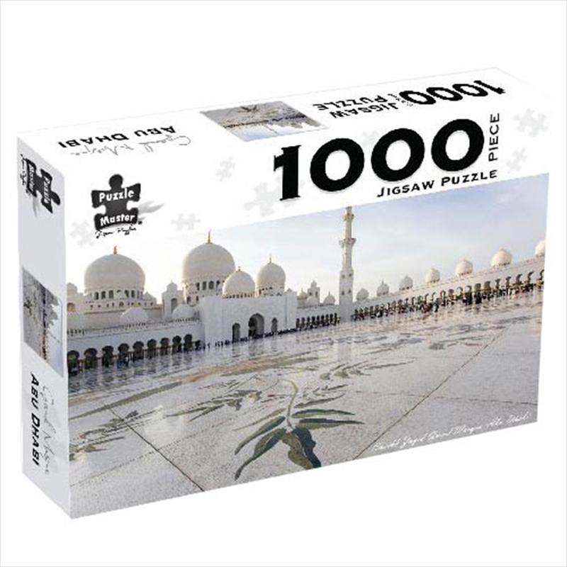Grand Mosque Abu Dhabi 1000 Piece Puzzle | Merchandise