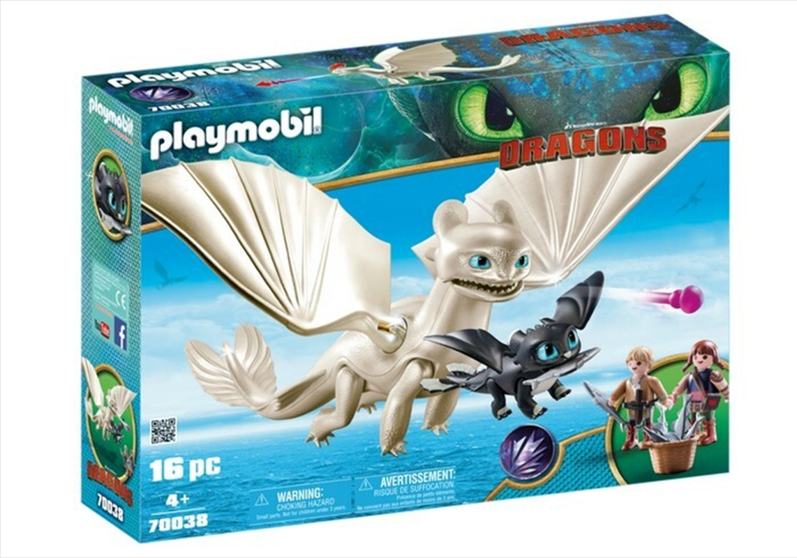Light Fury With Kids | Toy