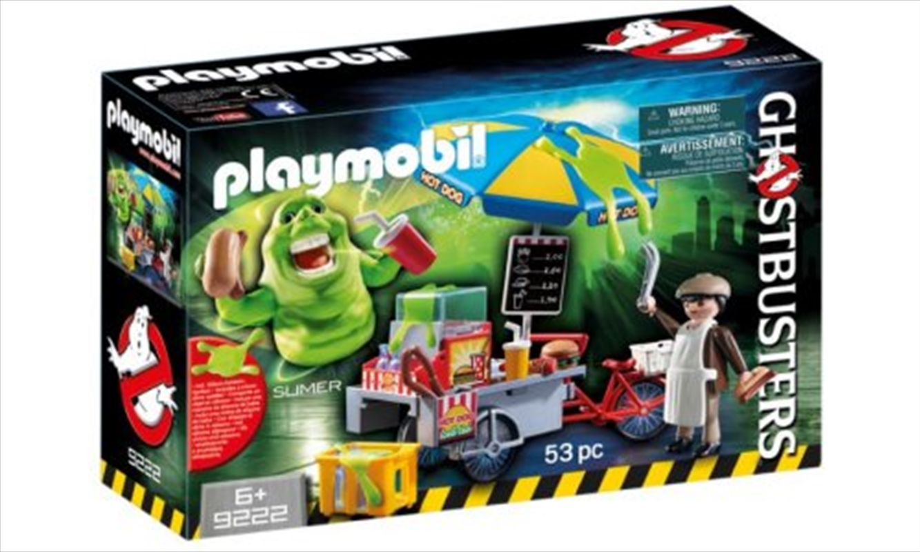 Slimer With Hot Dog Stand | Toy