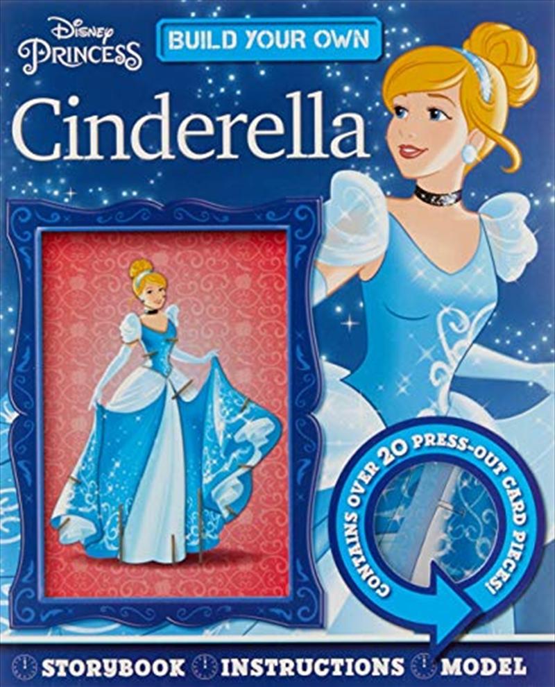 Cinderella: Build Your Own (disney Princess)   Board Book