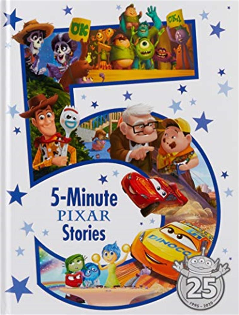 5-minute Disney-pixar Stories | Hardback Book