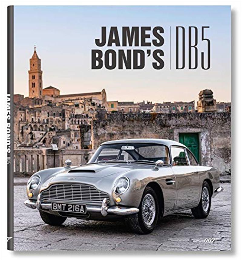 James Bond's Aston Martin DB5   Hardback Book