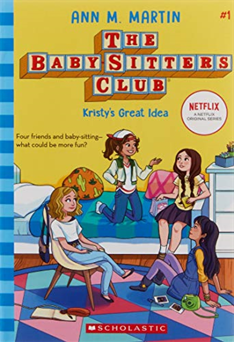 Baby-sitters Club #1: Kristy's Great Idea   Paperback Book
