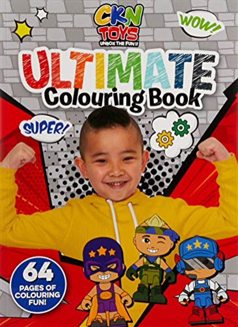Ckn Toys: Ultimate Colouring Book | Paperback Book
