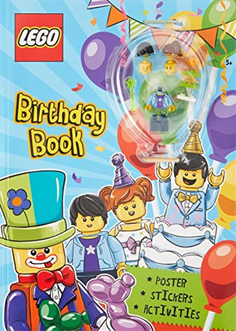 Lego Birthday Book | Paperback Book