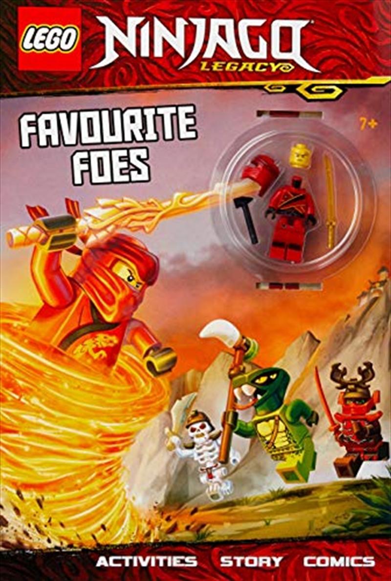 Lego Ninjago: Favourite Foes | Paperback Book
