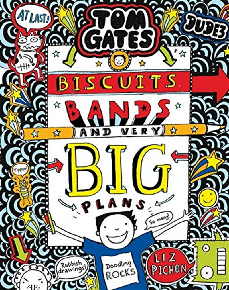 Tom Gates #14: Biscuits, Bands And Very Big Plans (re-release) | Paperback Book
