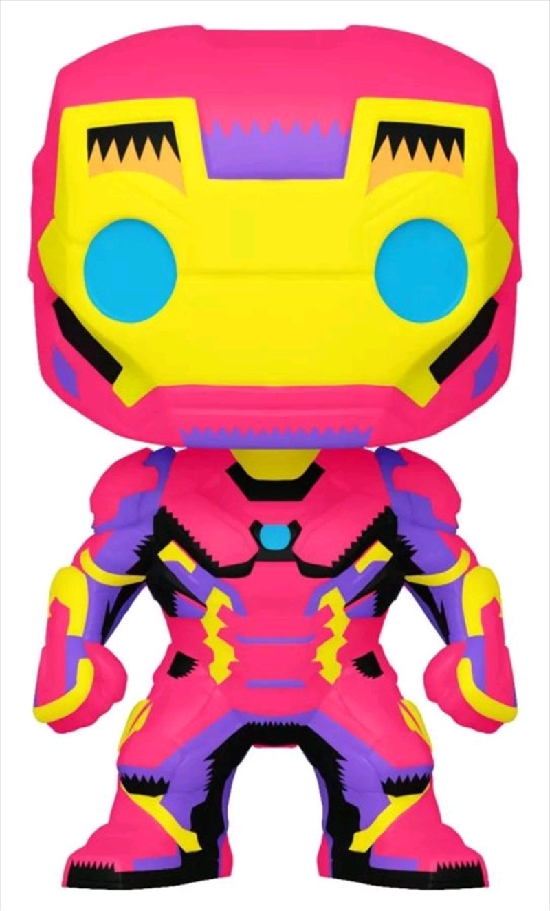 Iron Man - Iron Man Black Light US Exclusive Pop! Vinyl [RS] | Pop Vinyl