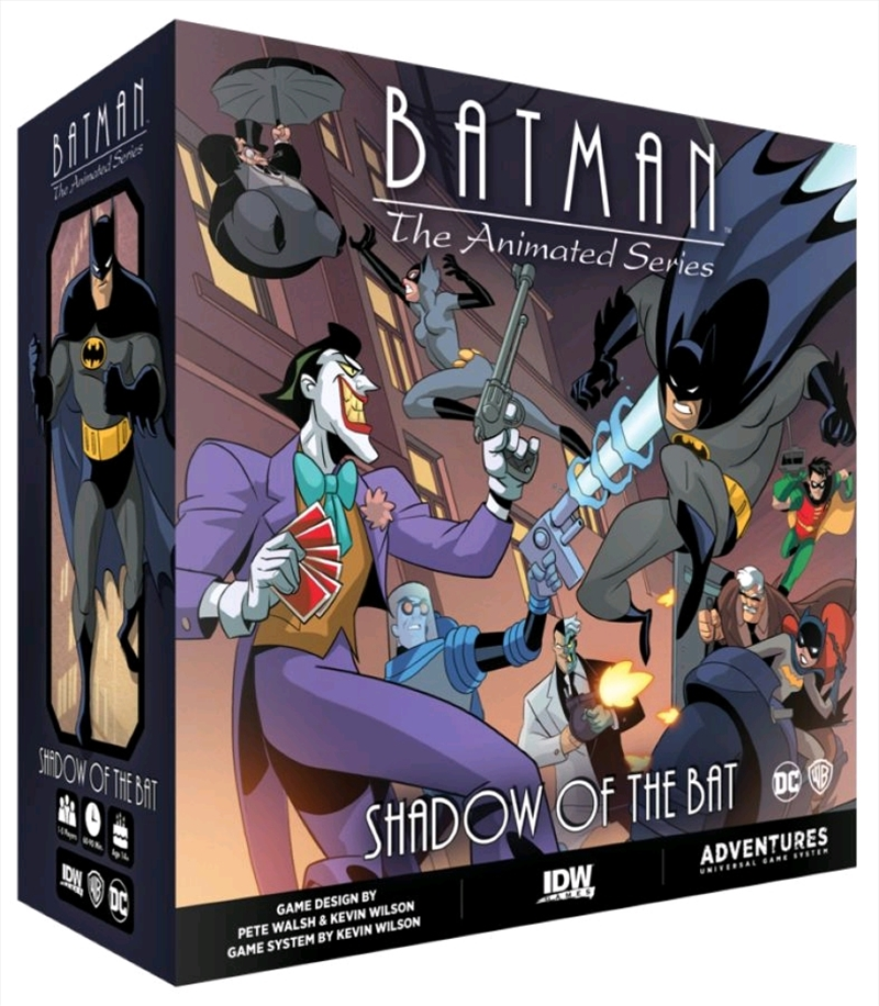 Batman: The Animated Series - Shadow of the Bat Board Game   Merchandise