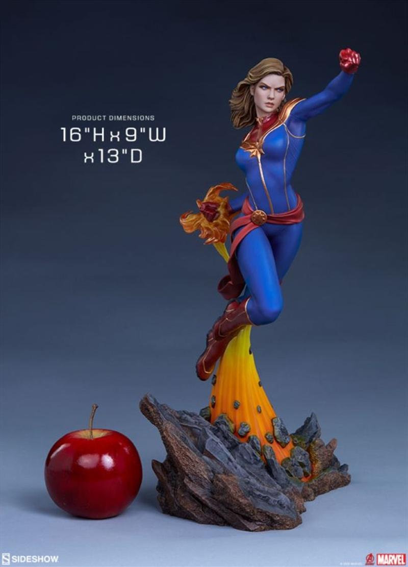 Captain Marvel - Captain Marvel Statue | Merchandise