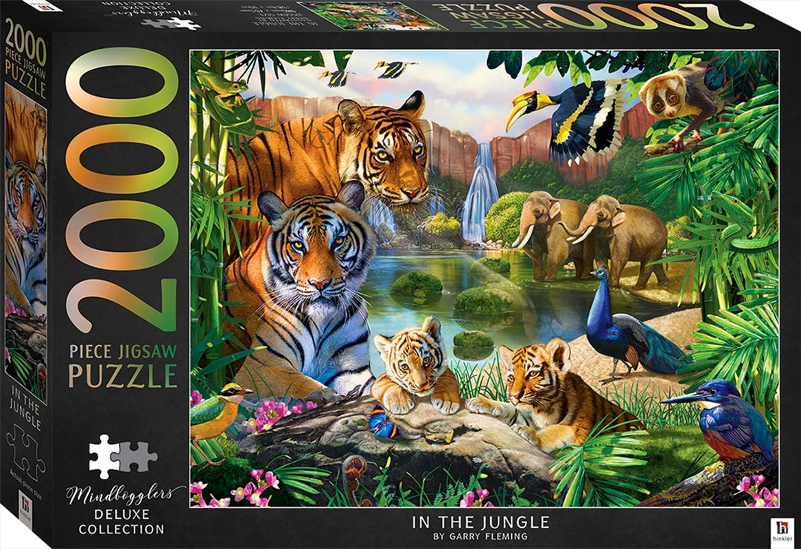 In The Jungle 2000 Piece Puzzle | Merchandise