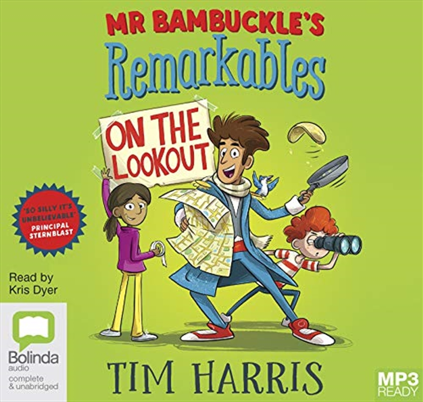 Mr Bambuckle's Remarkables On The Lookout: 4   Audio Book
