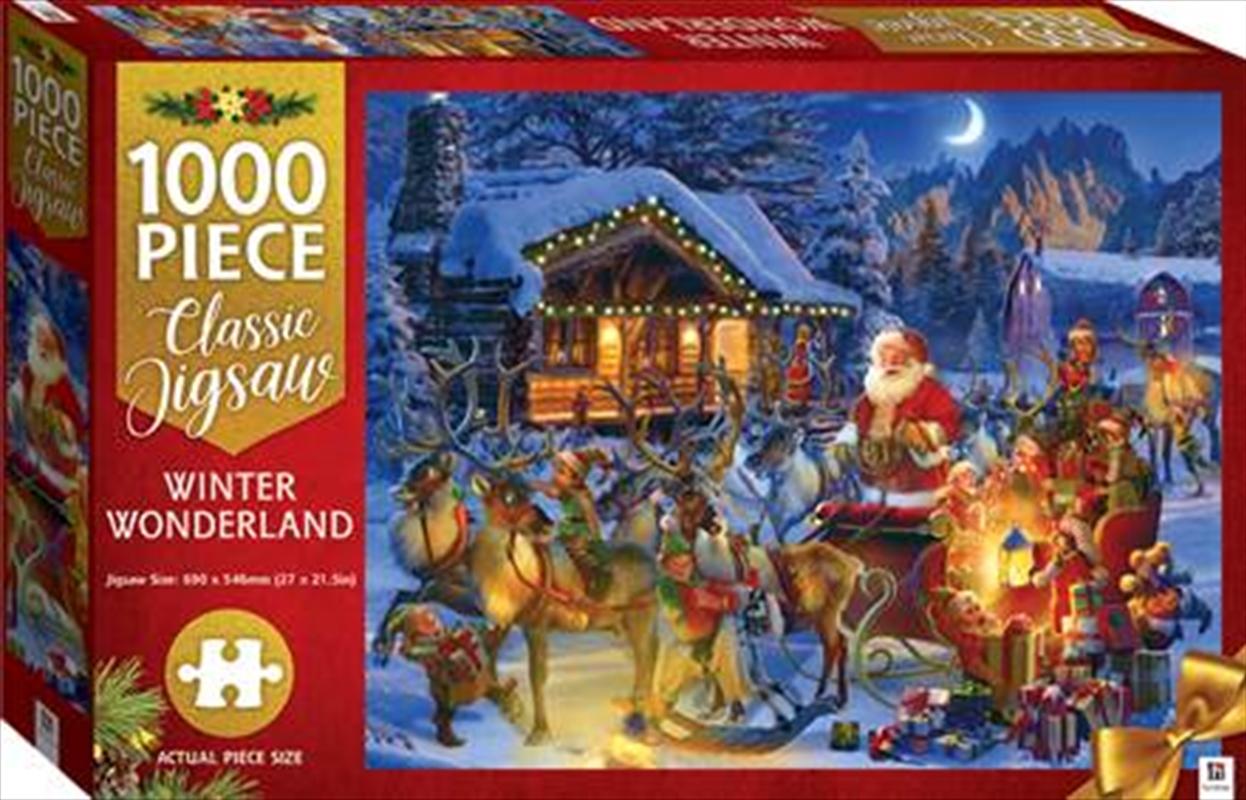 Winter Wonderland 1000 Piece Puzzle | Merchandise