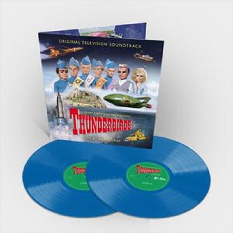 Thunderbirds - Limited Edition Sky Blue Coloured Vinyl   Vinyl