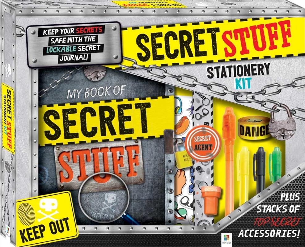 Secret Stuff Stationery Kit   Merchandise