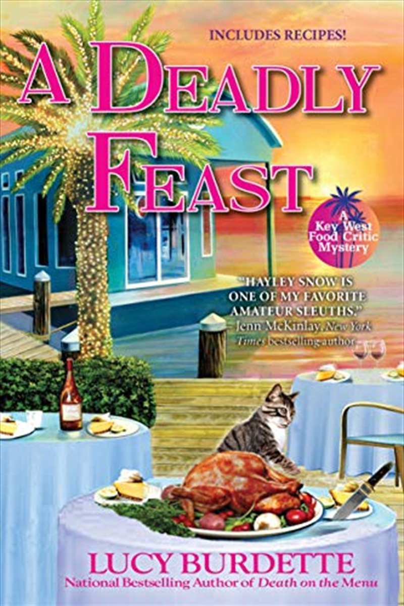 A Deadly Feast: A Key West Food Critic Mystery | Paperback Book