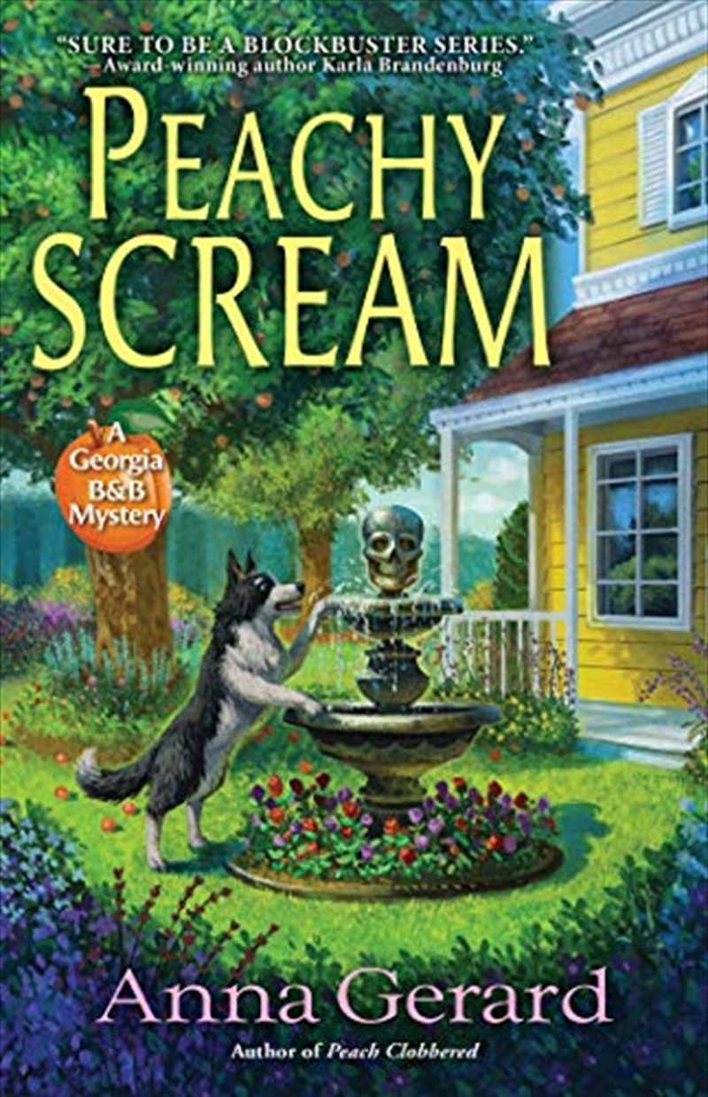 Peachy Scream: A Georgia B&b Mystery | Hardback Book