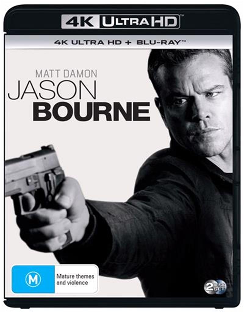 Jason Bourne | Blu-ray + UHD + UV | UHD