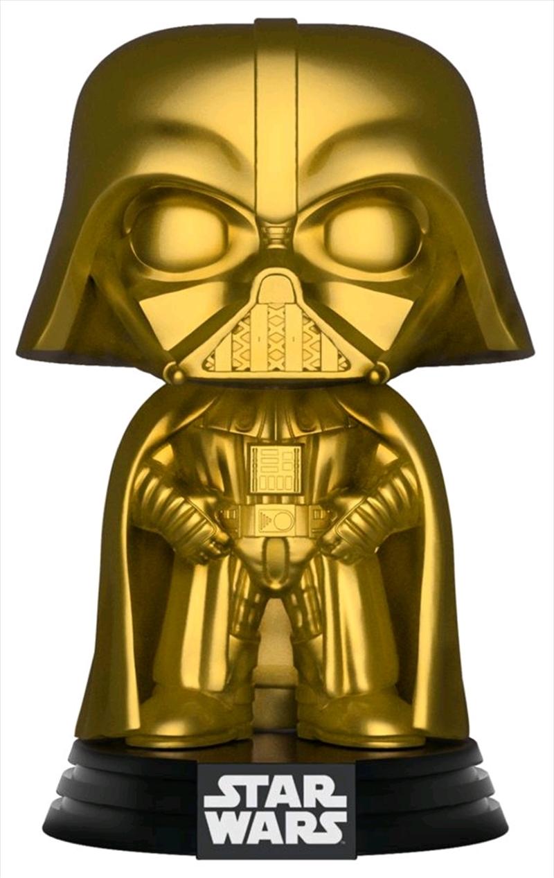 Star Wars - Darth Vader Gold Metallic US Exclusive Pop! Vinyl | Pop Vinyl
