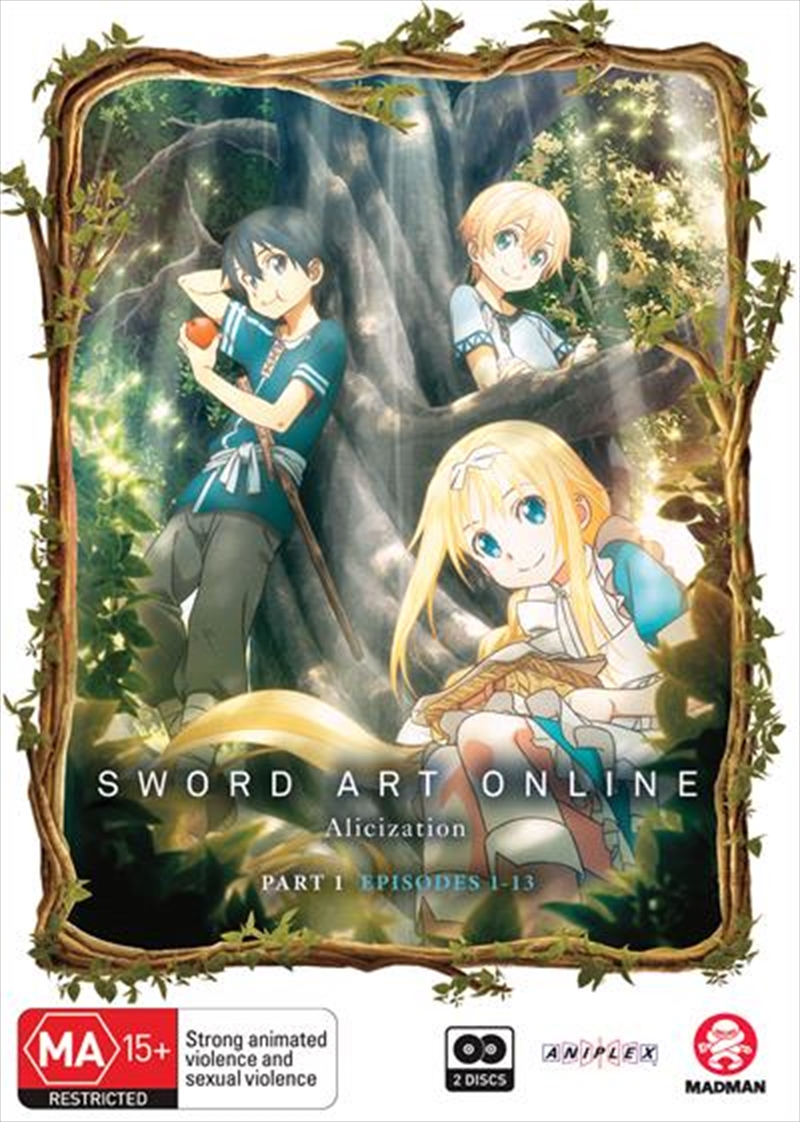Sword Art Online - Alicization - Part 1 - Eps 1-13 | DVD
