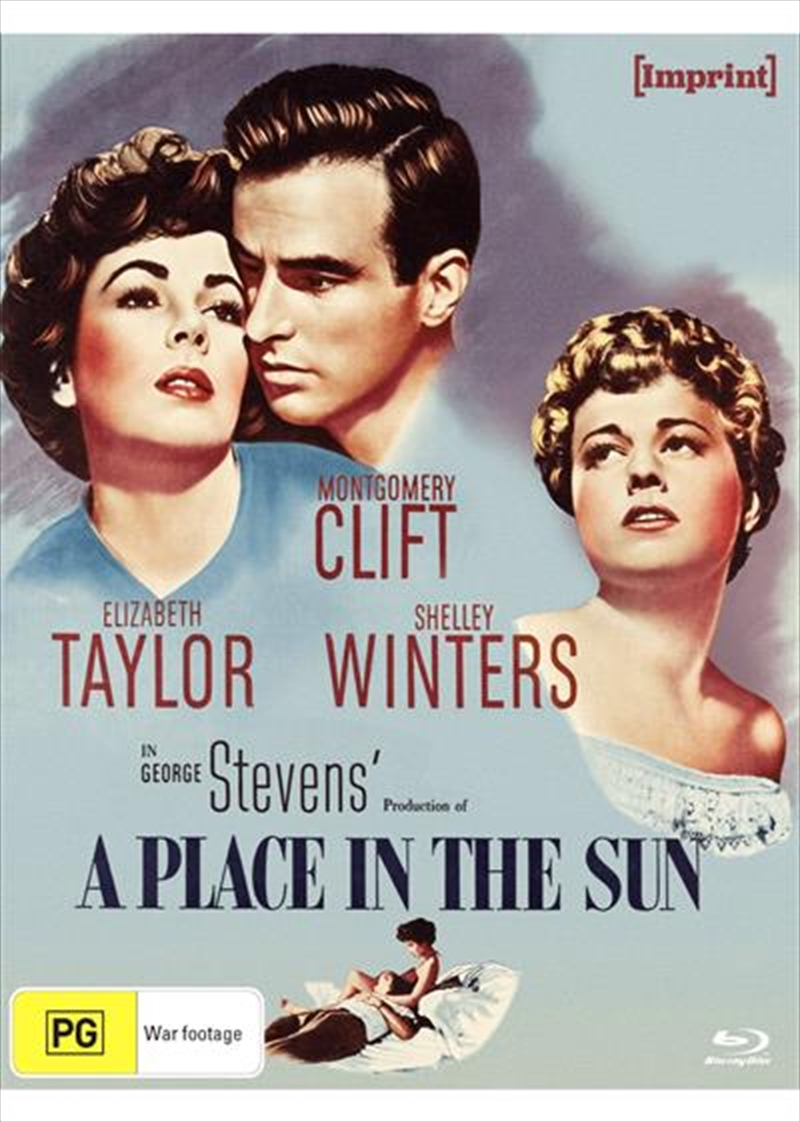 A Place In The Sun   Blu-ray