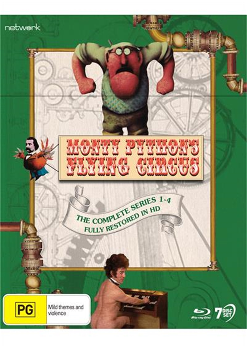 Monty Python's Flying Circus | Complete Series - Restored | Blu-ray