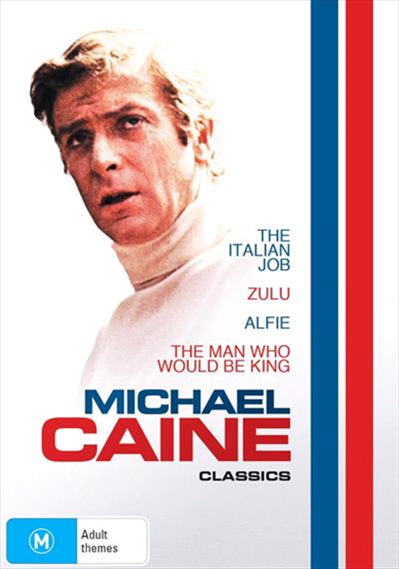 Alfie / The Italian Job / The Man Who Would Be King / Zulu | Michael Caine Collection | DVD