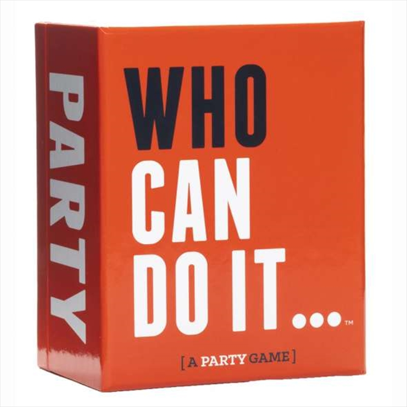 Who Can Do It | Merchandise