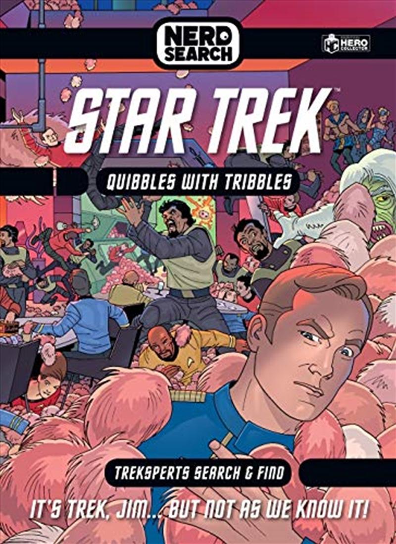 Star Trek Nerd Search   Hardback Book