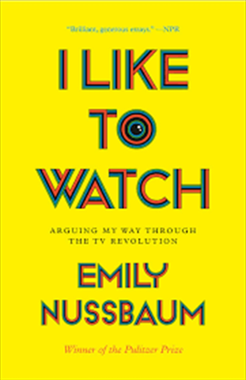 I Like To Watch | Paperback Book