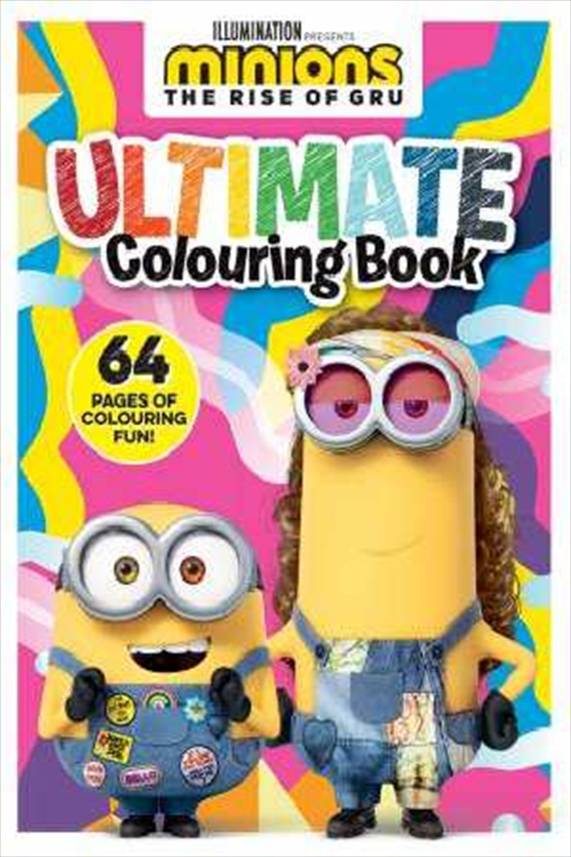 Minions The Rise Of Gru: Ultimate Colouring Book | Paperback Book