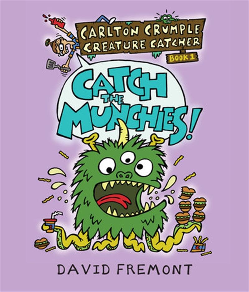 Carlton Crumple Creature Catcher   Hardback Book