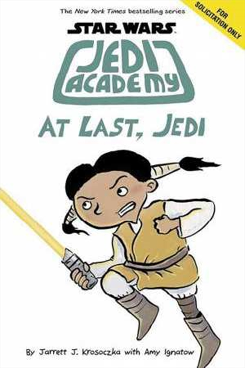 At Last, Jedi (star Wars: Jedi Academy, Book 9) | Paperback Book