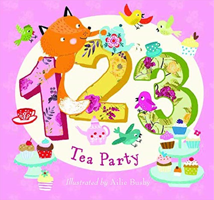 123 Tea Party | Board Book