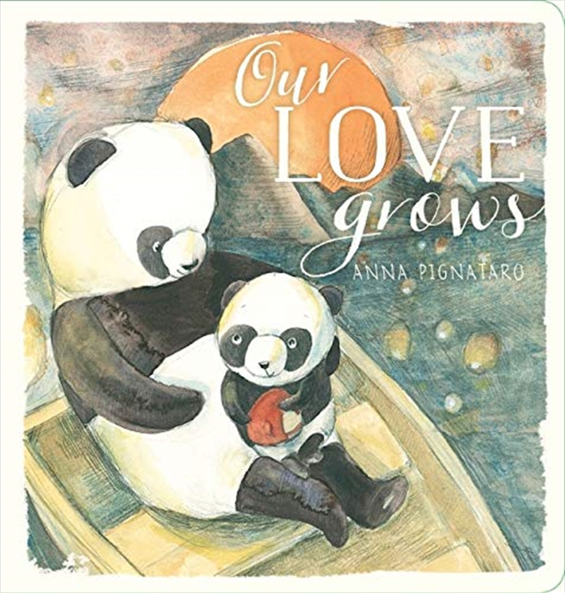 Our Love Grows   Hardback Book