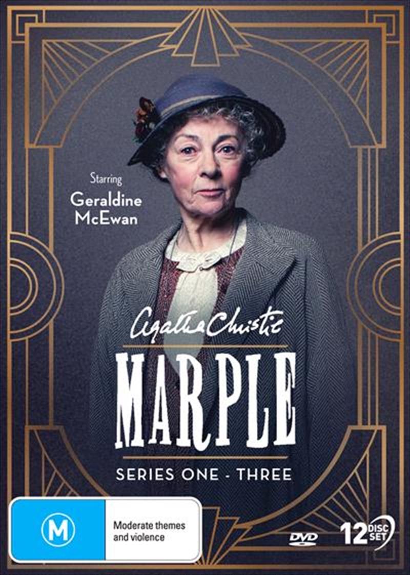 Agatha Christie's Miss Marple - Series 1-3 | Boxset | DVD