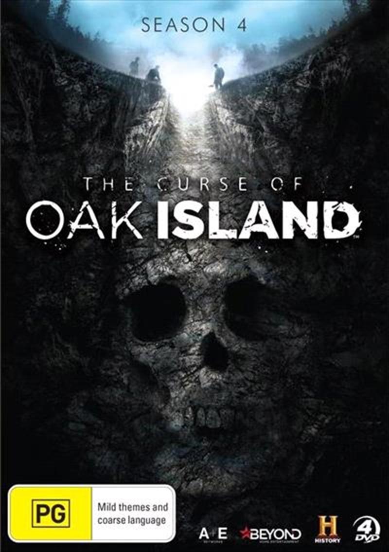 Curse Of Oak Island - Season 4 | Collection, The | DVD