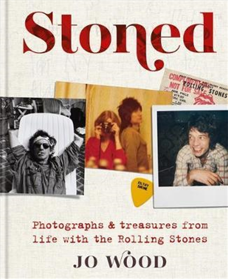 Stoned : Photographs and treasures from life with the Rolling Stones | Hardback Book